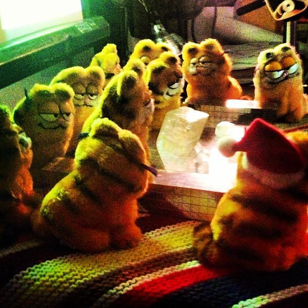 Buswick open studios Garfield genius