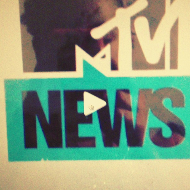 NERVO WEARING HALEH NEMATZADEH ON MTV NEWS