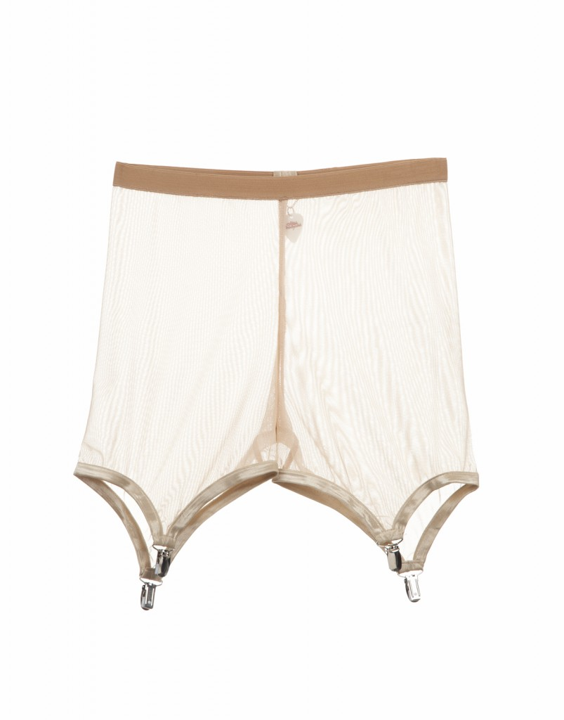 SUSPENDER MESH SHORT